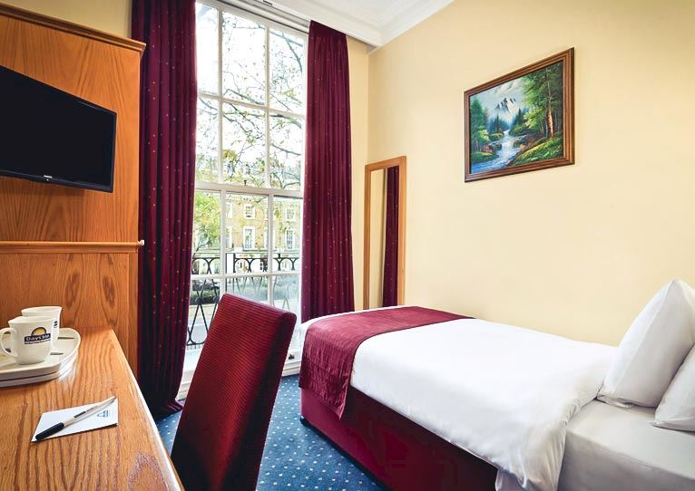 Standard Single - 1 Single Bed at Days Inn London Hyde Park Paddington London