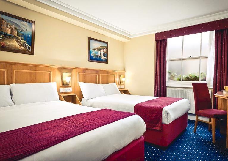 Standard Quad - 2 Double Beds at Days Inn London Hyde Park Paddington London