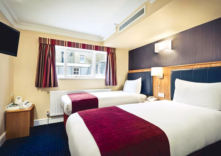 Standard Twin - 2 Single Beds at Days Inn London Hyde Park Paddington London