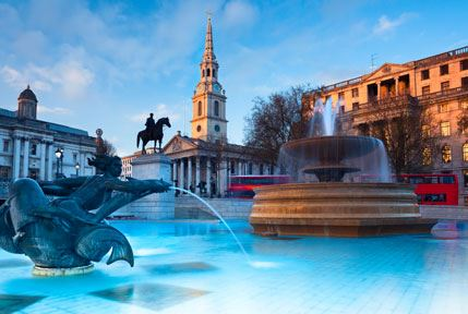 Trafalgar Square Paddington London Hotel